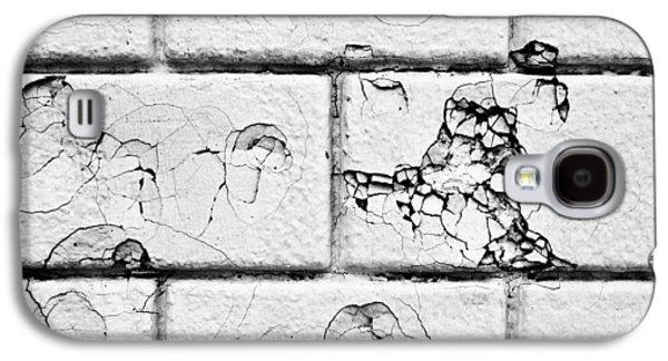 White Brick Wall Galaxy S4 Case by Tom Gowanlock
