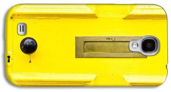 Yellow Door Galaxy S4 Case by Tom Gowanlock