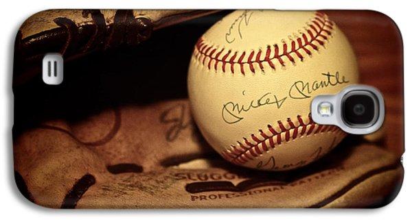 50 Home Run Baseball Galaxy S4 Case by Mark Miller