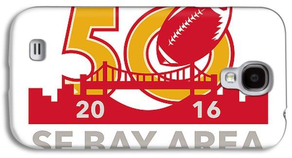 50 Pro Football Championship Sf Bay Area 2016 Galaxy S4 Case by Aloysius Patrimonio