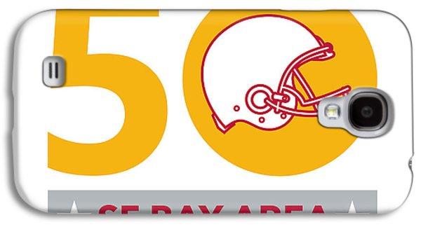 50 Pro Football Championship Sf Bay Area Galaxy S4 Case by Aloysius Patrimonio