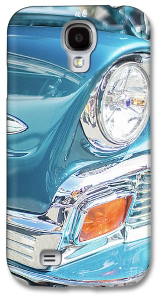 50s Chevy Chrome Galaxy S4 Case by Mike Reid
