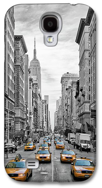 5th Avenue Nyc Traffic Galaxy S4 Case