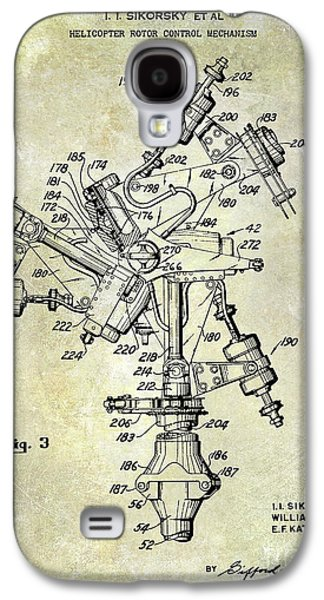 1950 Helicopter Patent Galaxy S4 Case