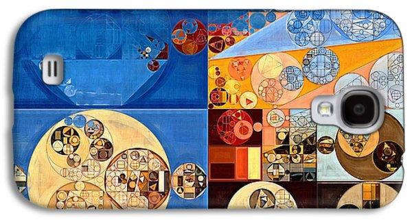 Abstract Painting - Lapis Lazuli Galaxy S4 Case by Vitaliy Gladkiy