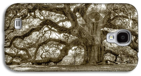 Carolina Galaxy S4 Cases - Angel Oak Live Oak Tree Galaxy S4 Case by Dustin K Ryan