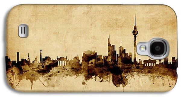 Berlin Galaxy S4 Case - Berlin Germany Skyline by Michael Tompsett