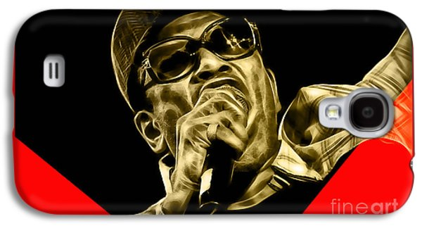 Bobby Womack Collection Galaxy S4 Case by Marvin Blaine