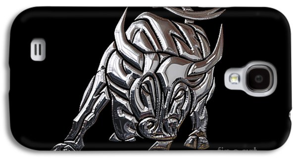 Bull Collection Galaxy S4 Case by Marvin Blaine