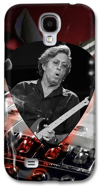 Eric Clapton Art Galaxy S4 Case by Marvin Blaine