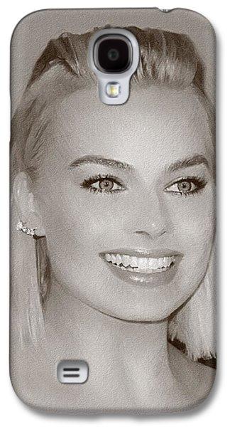 Hollywood Star Margot Robbie Galaxy S4 Case by Best Actors
