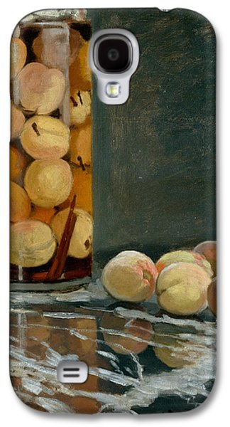 Jar Of Peaches Galaxy S4 Case by Claude Monet
