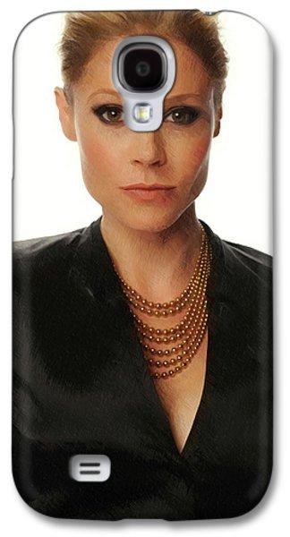 Julie Bowen Print Galaxy S4 Case by Best Actors