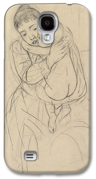 Maternal Caress Galaxy S4 Case
