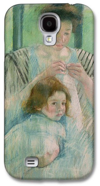 Mother And Child Galaxy S4 Case
