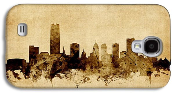 Oklahoma City Skyline Galaxy S4 Case