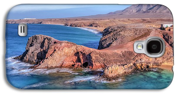 Playa Papagayo - Lanzarote Galaxy S4 Case by Joana Kruse