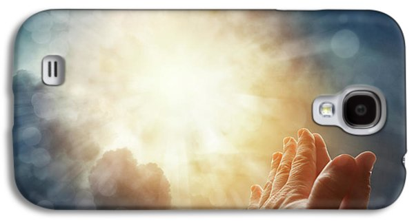 Prayer Galaxy S4 Case by Les Cunliffe