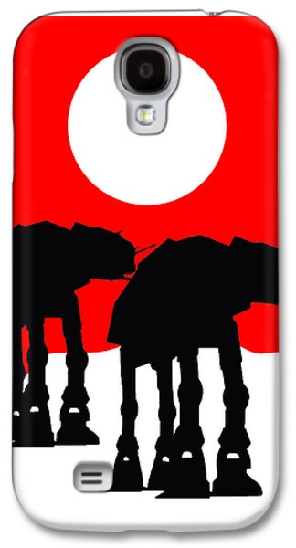 Star Wars At-at Collection Galaxy S4 Case