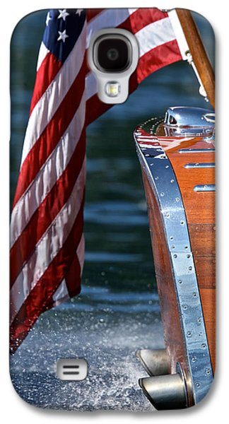 Yacht Ensign Galaxy S4 Case by Steven Lapkin