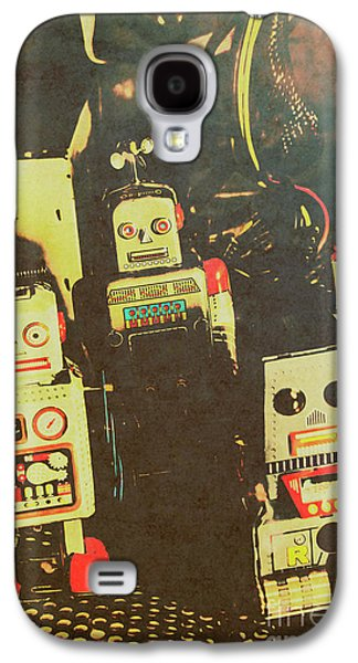 60s Cartoon Character Robots Galaxy S4 Case by Jorgo Photography - Wall Art Gallery