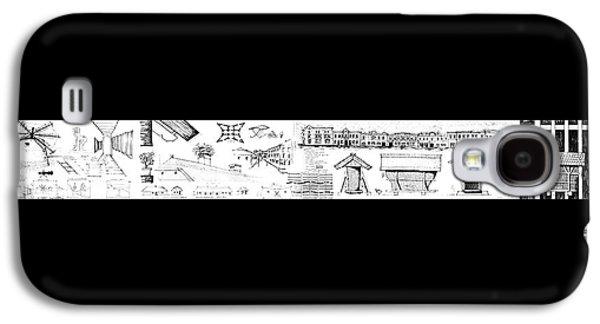6.19.hungary-3-detail-a Galaxy S4 Case by Charlie Szoradi