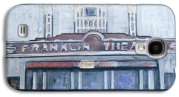 #62 Going To The Franklin Theatre Galaxy S4 Case by Alison Poland