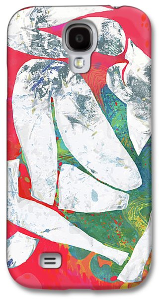 Nude Pop Stylised Art Poster Galaxy S4 Case by Kim Wang