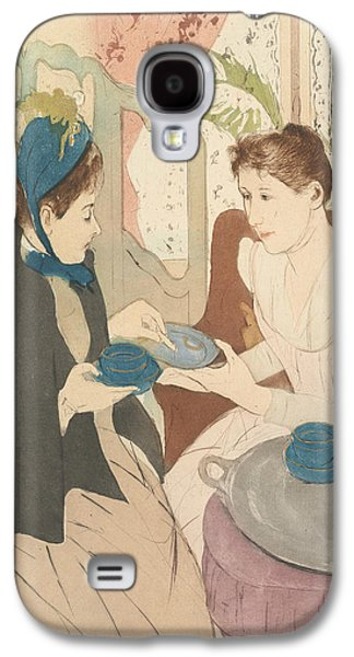 Afternoon Tea Party Galaxy S4 Case by Mary Cassatt