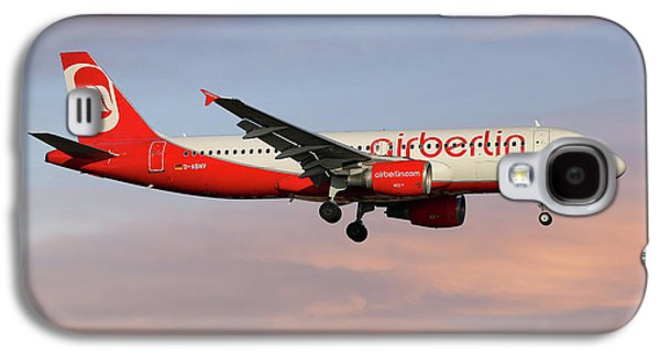 Berlin Galaxy S4 Case - Air Berlin Airbus A320-214 by Smart Aviation
