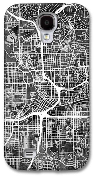 Atlanta Georgia City Map Galaxy S4 Case