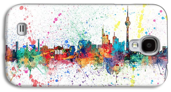 Berlin Germany Skyline Galaxy S4 Case by Michael Tompsett