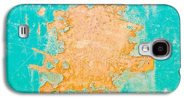 Blue Metal Galaxy S4 Case by Tom Gowanlock