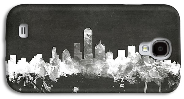 Dallas Texas Skyline Galaxy S4 Case by Michael Tompsett