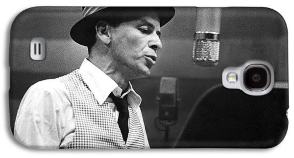 Frank Sinatra - Capitol Records Recording Studio Galaxy S4 Case by The Titanic Project