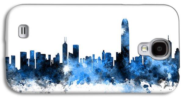 Hong Kong Galaxy S4 Case - Hong Kong Skyline by Michael Tompsett
