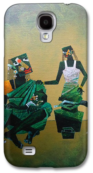 Mother And Child Galaxy S4 Case by Sharath Palimar