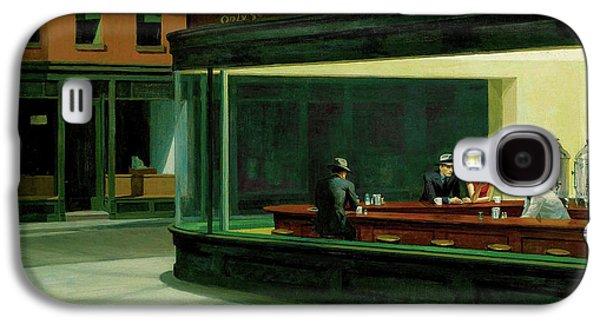 Nighthawks Galaxy S4 Case by Edward Hopper