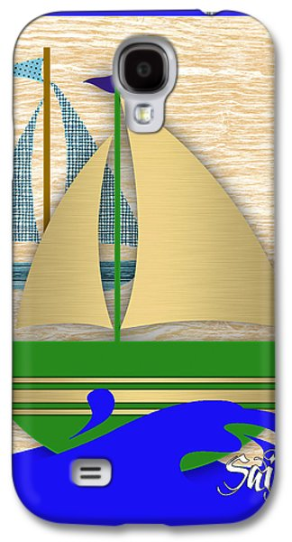 Sailing Collection Galaxy S4 Case