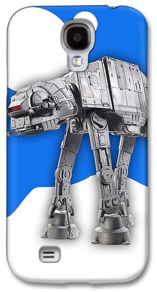 Star Wars At-at Collection Galaxy S4 Case by Marvin Blaine