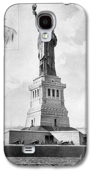 Statue Of Liberty, 1886 Galaxy S4 Case