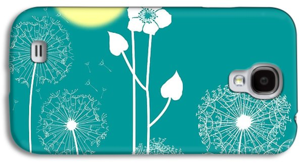 Wild Flowers Galaxy S4 Case by Celestial Images