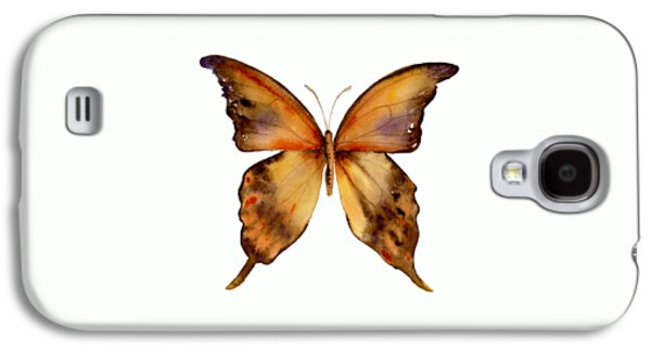 7 Yellow Gorgon Butterfly Galaxy S4 Case