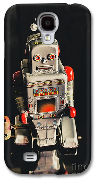 70s Mechanical Android Bot  Galaxy S4 Case