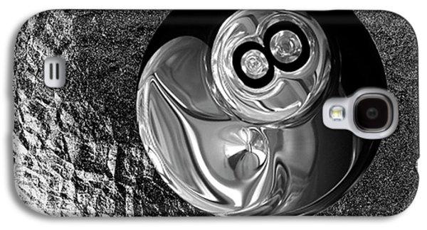 8 Ball Galaxy S4 Case by Jack Zulli