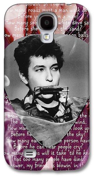 Bob Dylan Art Galaxy S4 Case by Marvin Blaine