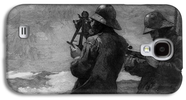 Eight Bells Galaxy S4 Case by Winslow Homer
