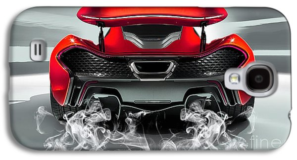 Mclaren P1 Collection Galaxy S4 Case by Marvin Blaine
