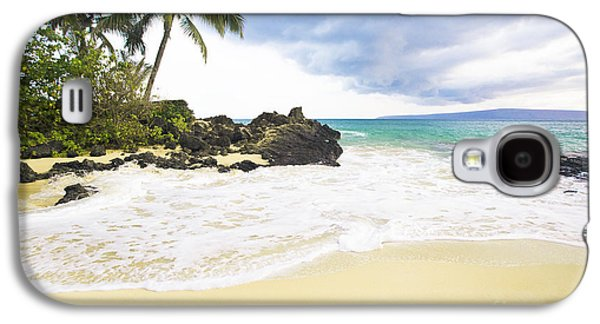 Paako Beach Makena Maui Hawaii Galaxy S4 Case by Sharon Mau