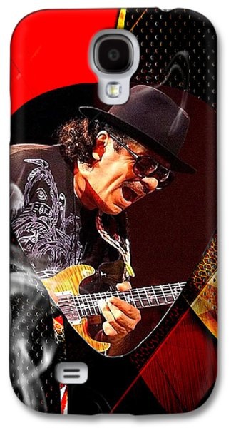 Santana Art Galaxy S4 Case by Marvin Blaine